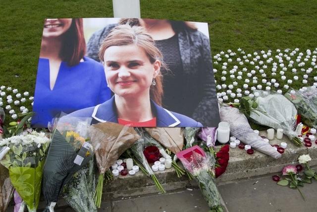 英國國會女議員喬.柯克斯(Jo Cox)遭遇害