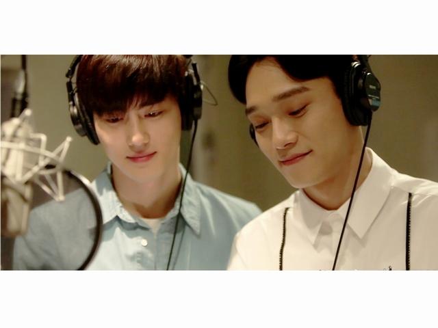 為了桂綸鎂 EXO成員SUHO、CHEN獻唱中文歌