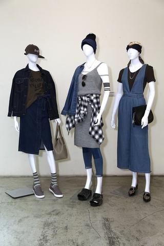 網路商店及大型店限定系列:「Style With Denim 風格丹寧」