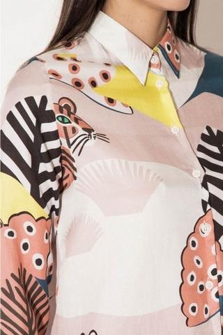 Paul & Joe 2016春夏款的動物圖騰印花襯衫