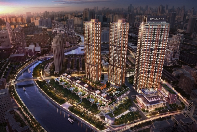 豪宅新指標  寶格麗公寓上海亮相