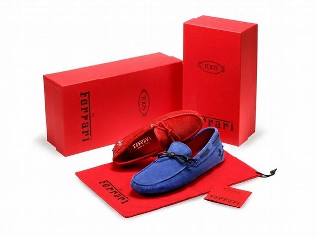 #情人節許願池TOD'S 法拉利系列豆豆鞋 奔馳在濃情密意之中!