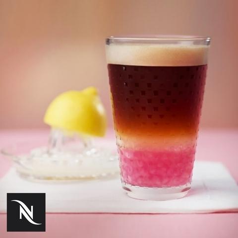 Nespresso咖啡膠囊球捕捉時髦漸層特調