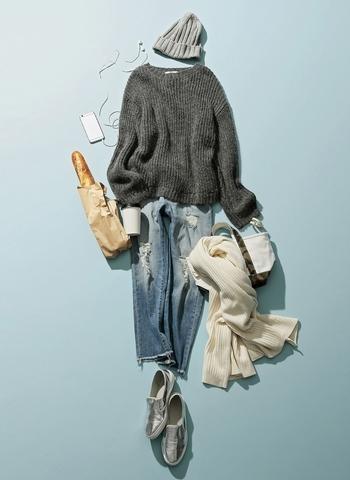 Style1 毛海寬版毛衣 - 假日造型就是要「寬鬆舒適」