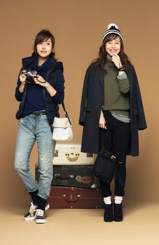 """場景 3 #Travel 〝層次穿搭展現流行品味""""跨年旅行也要時尚有型的穿搭"""