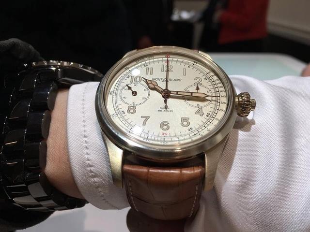 萬寶龍復古青銅錶本尊!