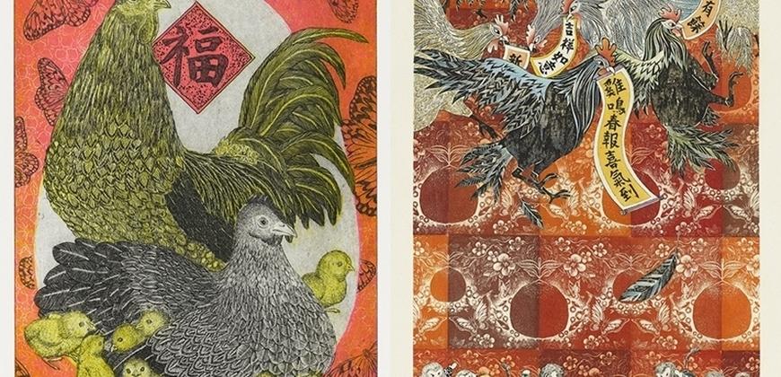 國美館版印年畫特展,「吉」啼舞春賀新年