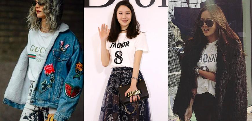 時髦人早就發現了!刷爆時尚圈的大LOGO T-shirt強勢回歸!