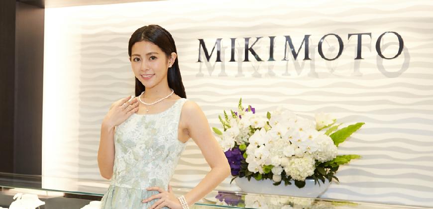 誰說珍珠熟女才能搭?任容萱靠MIKIMOTO珍珠搭出減齡仙氣