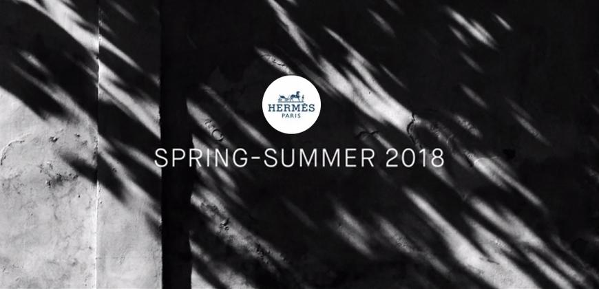 最優雅的遇見!2018春夏愛馬仕Hermès巴黎時裝大秀直播中