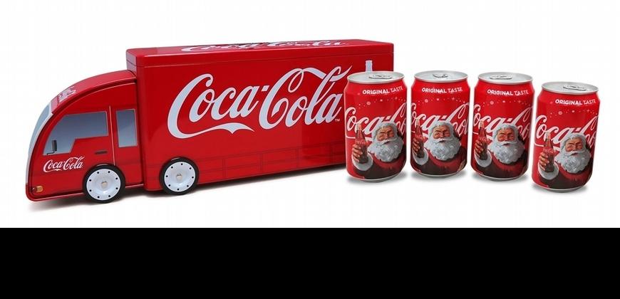 聖誕老人耍潮味開貨車進城啦!可口可樂推出季節限定聖誕包裝