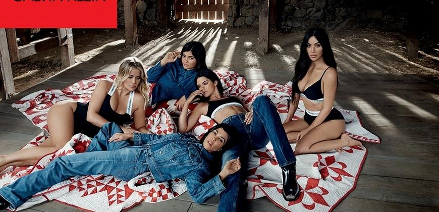 最美好的Body 卡戴珊家族五姊妹齊上陣合體CK廣告
