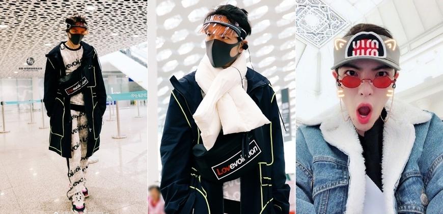 地表最強機場時尚!蕭敬騰潮男氣息撲面而來