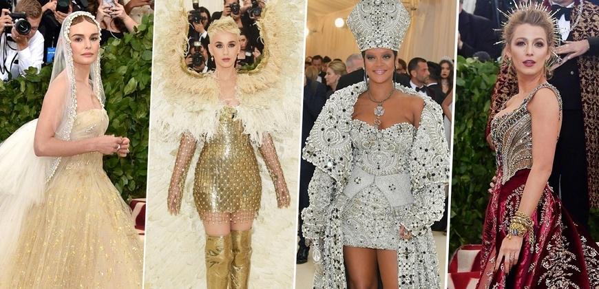 2018時尚奧斯卡Met Gala不正常才正常!蕾哈娜教皇氣場無敵,凱蒂佩芮化身天使降臨