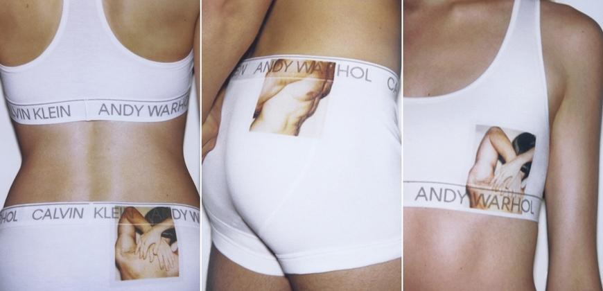 行走的賀爾蒙!CALVIN KLEIN 推出Andy Warhol限量聯名內衣