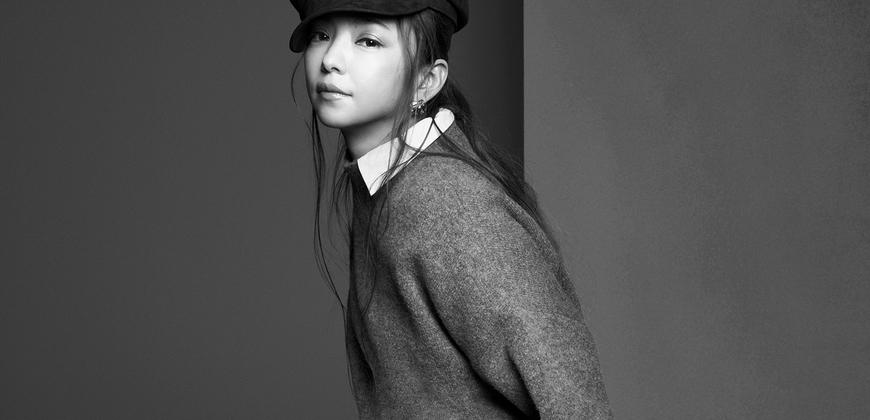 引退前最後一波!安室奈美惠X H&M初秋系列,用復古報童帽打造經典安室look