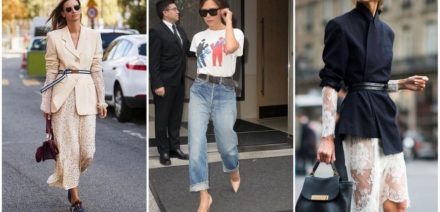 配件也能立大功!四種腰帶穿搭方式讓妳立馬變超模
