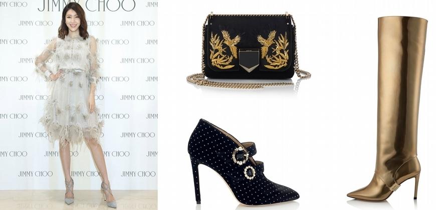 楊謹華化身時尚女王 搶先帶逛Jimmy Choo 秋冬新貨,幫妳check到底該不該敗!