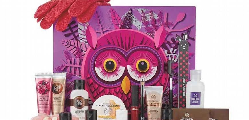 超可愛的貓頭鷹、麋鹿一看就想要! 2018年最療癒的倒數月就是牠們,THE BODY SHOP魔法森林倒數月曆,讓12月的每天都享受大自然的美!
