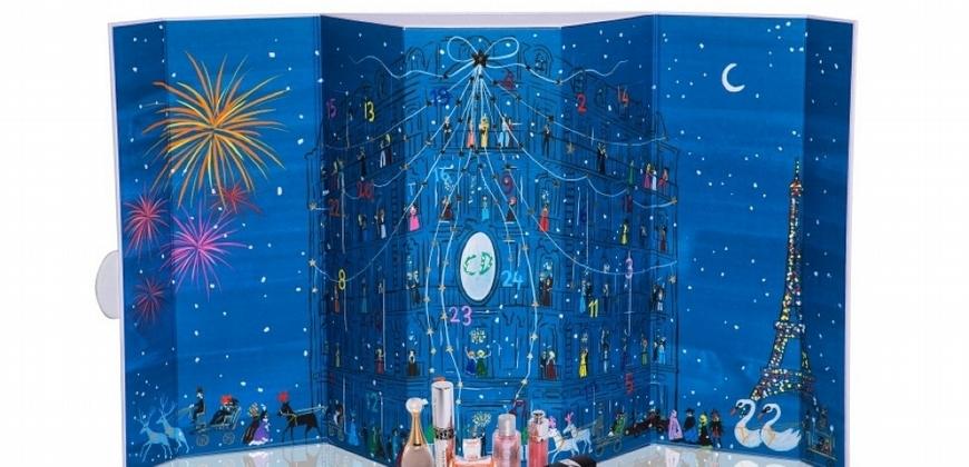 迪奧香水控有這盒無敵幸福!DIOR 迪奧2018 聖誕倒數月曆讓人每天都開出小小大幸運!