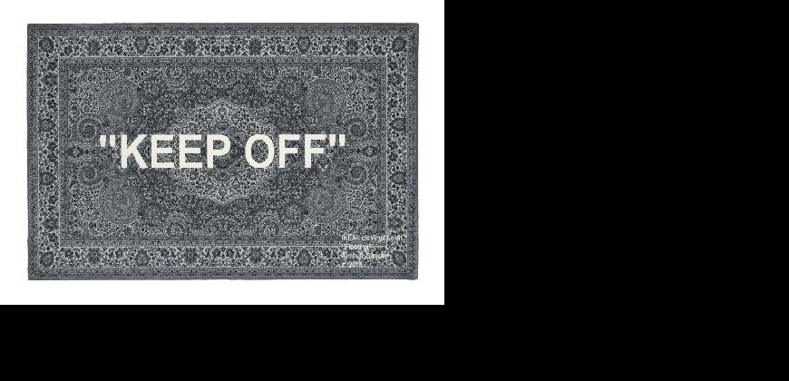 終於來了!IKEA x Off-White藝術家合作限量地毯 5/15即將在台上市