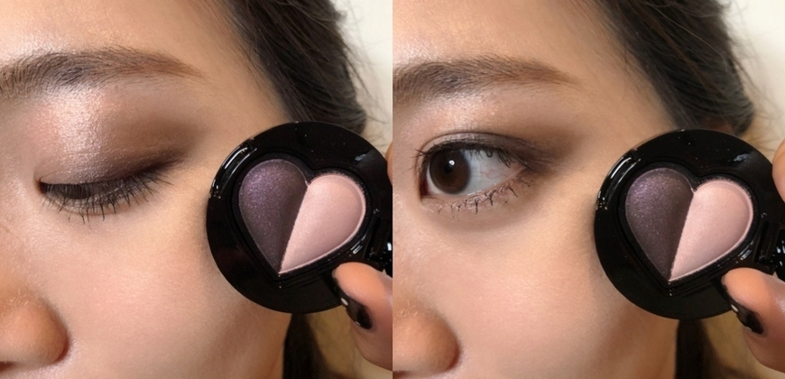 有附鏡子的雙色愛心眼影太貼心、面紗蜜粉餅直接柔焦肌膚,ANNA SUI 2020春妝真的超有愛!