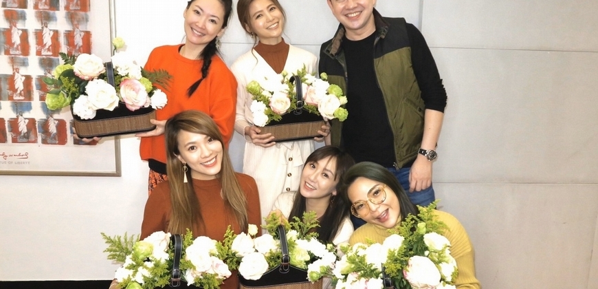 李明川插花助女星脫單 「誰先出嫁婚禮花藝他包了」