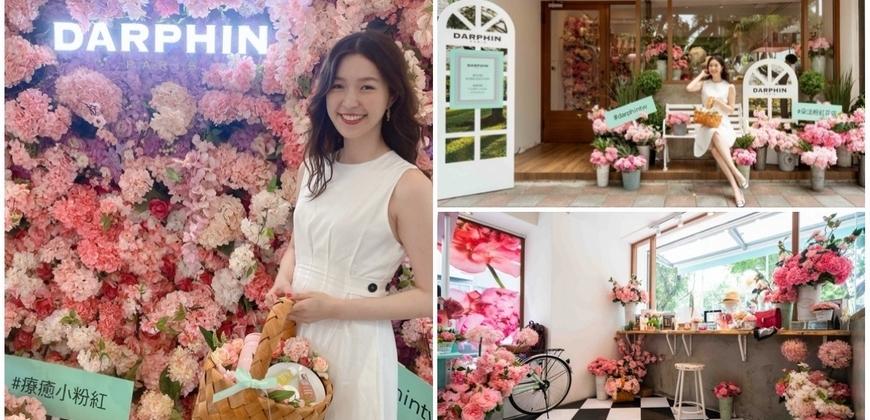 想要一秒到巴黎來這就對了!逛花店邊吃玫瑰花冰淇淋,肌膚浪漫指數更是破表!