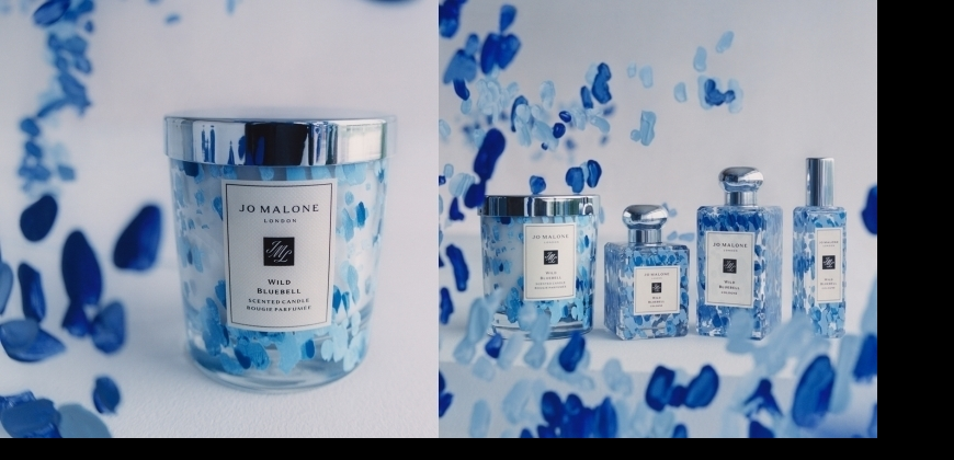 藍色和情人節也超級搭!  Jo Malone的限量藍風鈴彩繪系列超夢幻 ,蠟燭真的好像要!