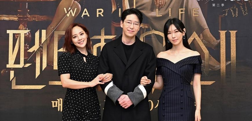 嚴基俊為《上流戰爭2》精進吻功!金素妍揪演員老公助陣客串