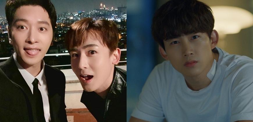 2PM隊友客串《文森佐》力挺玉澤演 宋仲基再被男人熊抱