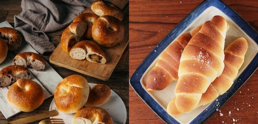 在家工作也要好好吃早餐「善菓屋」推麵包組合人氣商品生吐司、貝果都吃得到!