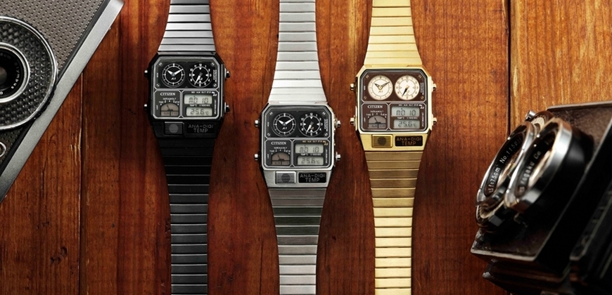 CITIZEN從時光軌跡中汲取經典靈感, 獨創引領街頭潮流的風格腕錶