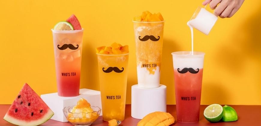鬍子茶夏季限定超人氣芒果、西瓜飲料重磅回歸! 「西瓜檸檬青、雪霜芒果爽」滿杯水果太享受!