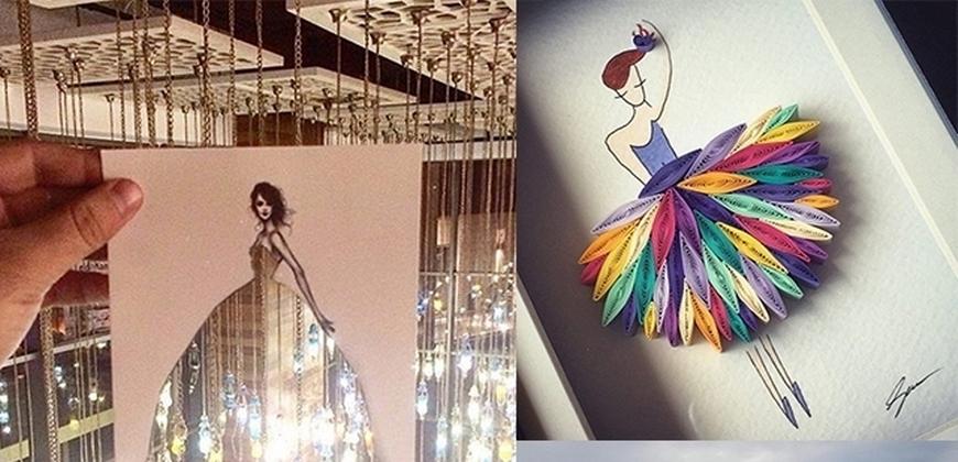 用紙創造出不一樣的美學世界!文青們必follow的超藝術Instagram