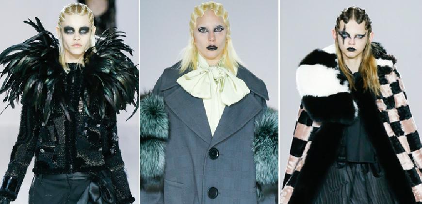 2016秋冬的暗黑力量 Marc Jacobs歌德式浮誇