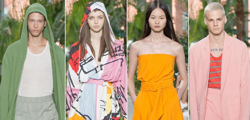 2017春夏紐約時裝周LACOSTE運動風與睡衣結合,打造最舒適的穿著體驗