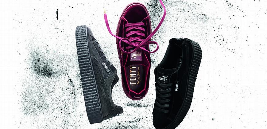 2016年度最佳潮鞋公布了!PUMA Creeper實至名歸蕾哈娜再推奢華絲絨版