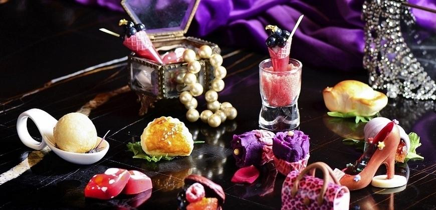 台北W飯店紫艷酒吧全新下午茶,濃濃時尚奢華感